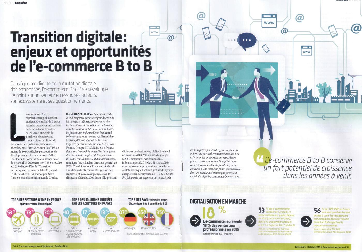 dossier E-commerce magazine