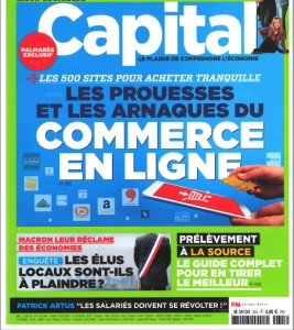 Capital, daté Avril 2018
